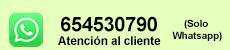 atención al cliente whatsapp 654530790